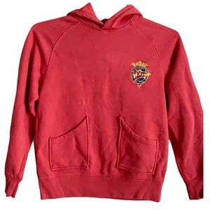 Boys Polo Ralph Lauren distressed pullover hoodie